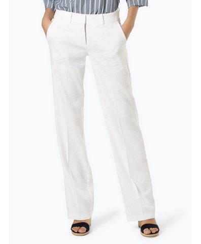 Spodnie damskie z dodatkiem lnu – Malice