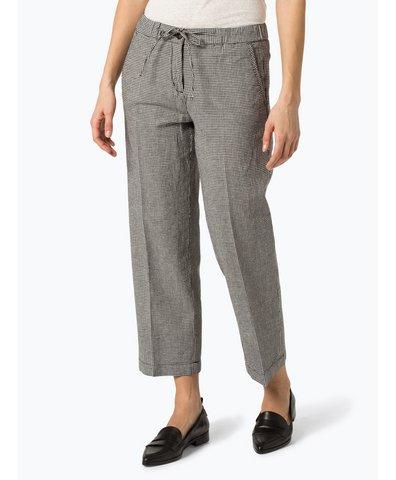 Spodnie damskie z dodatkiem lnu – Mauri Vichy Sp