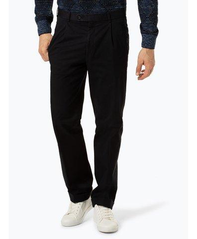 Hiltl Spodnie męskie – Milano U, czarny vangraaf