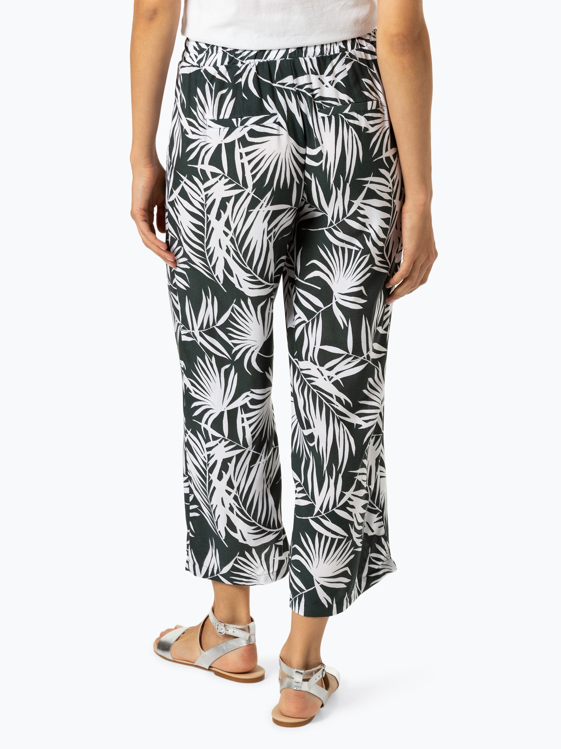 Street One Damen Hose - Wide Leg Tropical