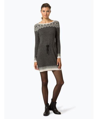 Sukienka damska z dodatkiem wełny merino i alpaki