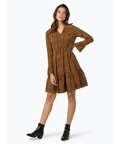 Sukienka damska z mieszanki jedwabiu