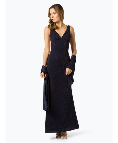Sukienka wieczorowa z etolą