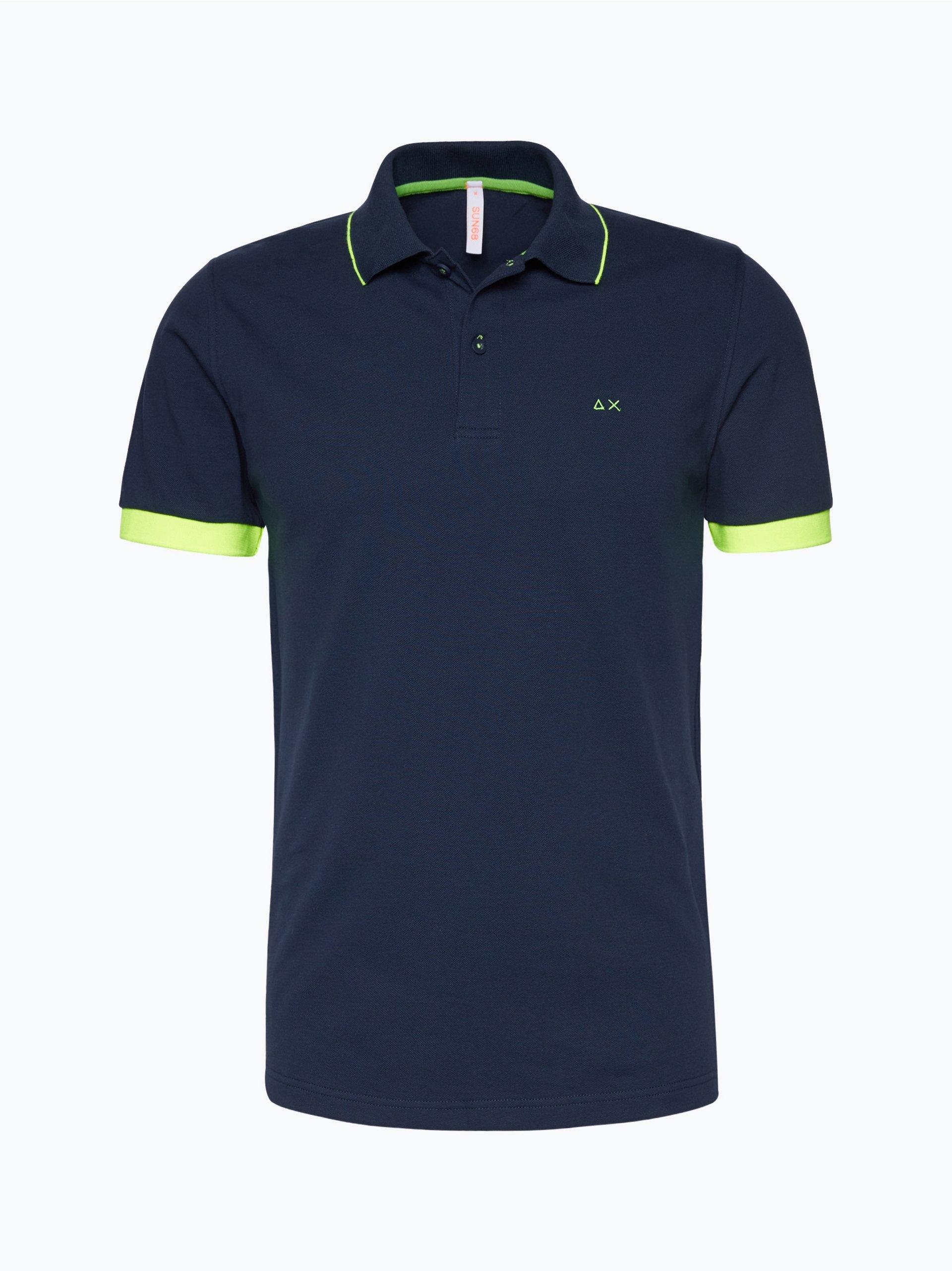 SUN68 Męska koszulka polo