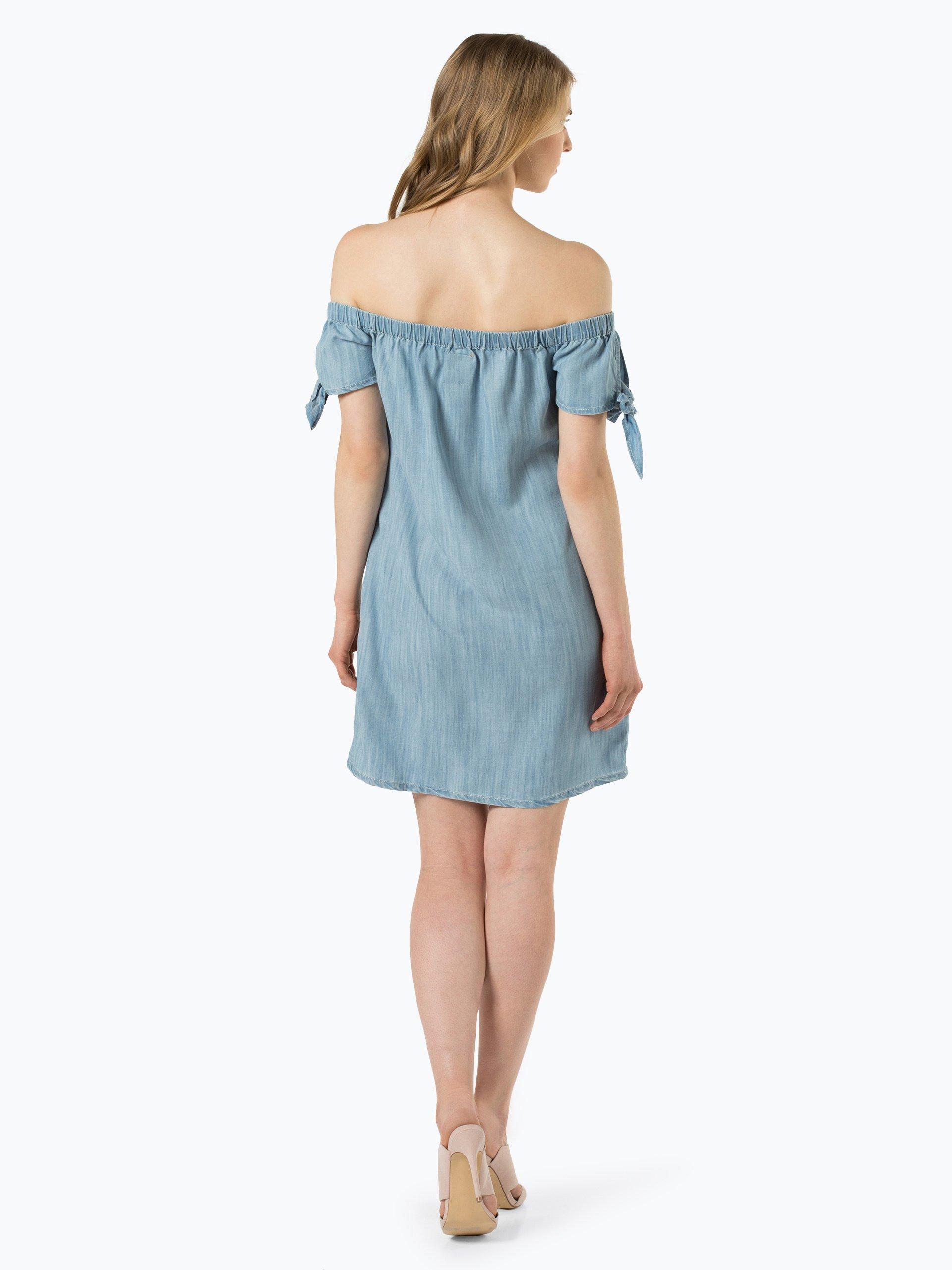 superdry damen kleid blau uni online kaufen peek und cloppenburg de. Black Bedroom Furniture Sets. Home Design Ideas