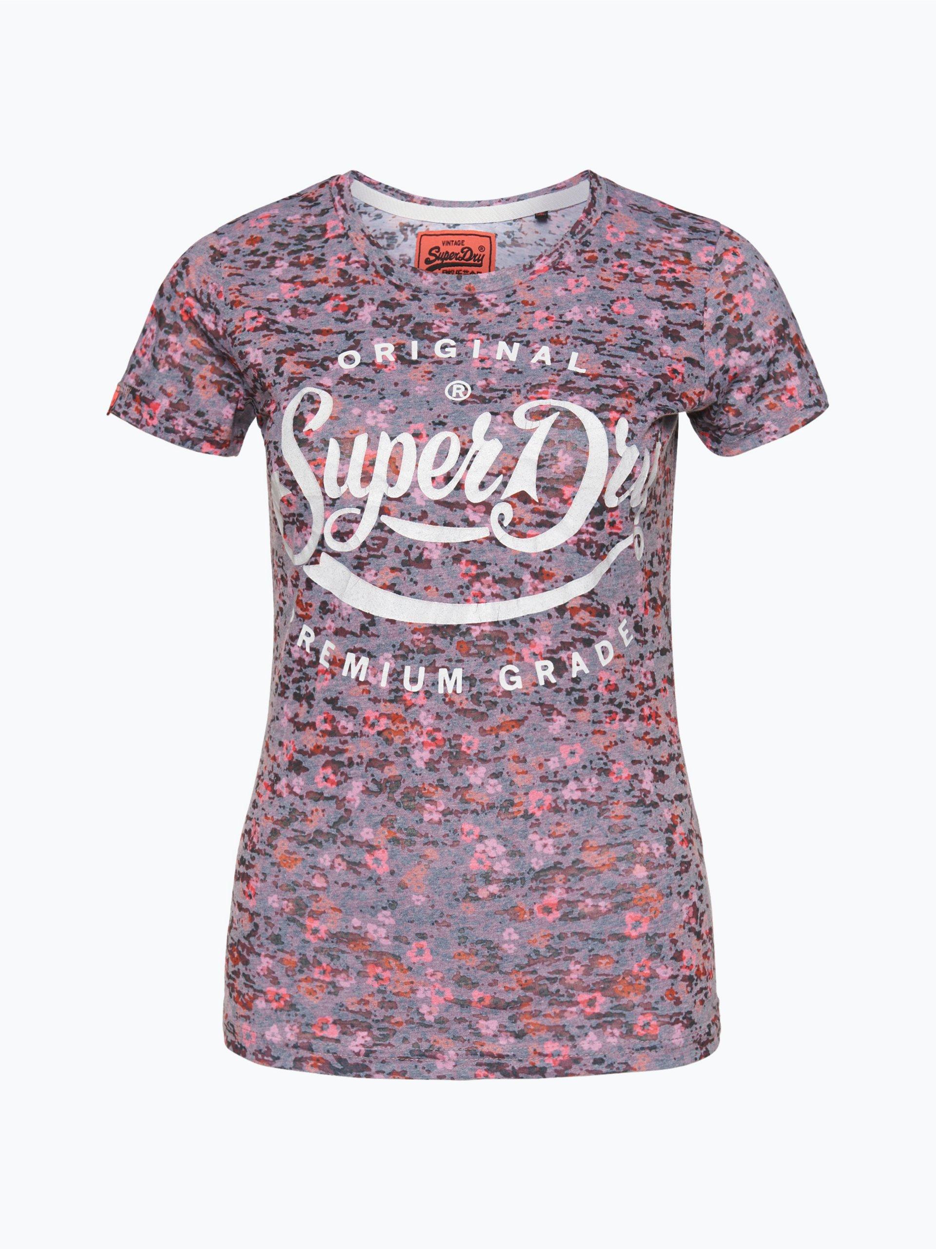 superdry damen t shirt premium grade blackend rosa uni. Black Bedroom Furniture Sets. Home Design Ideas