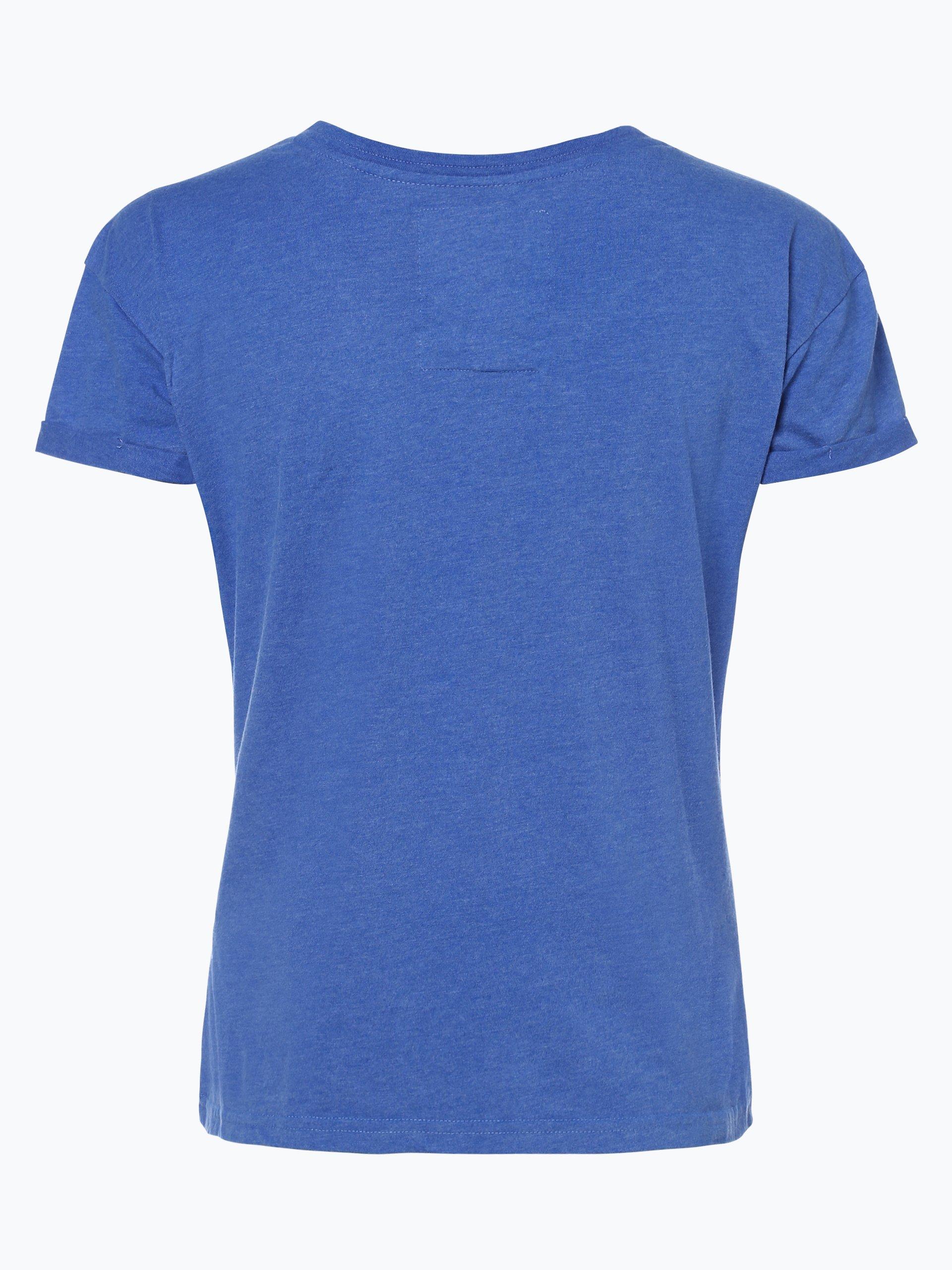 superdry damen t shirt royal uni online kaufen vangraaf com. Black Bedroom Furniture Sets. Home Design Ideas