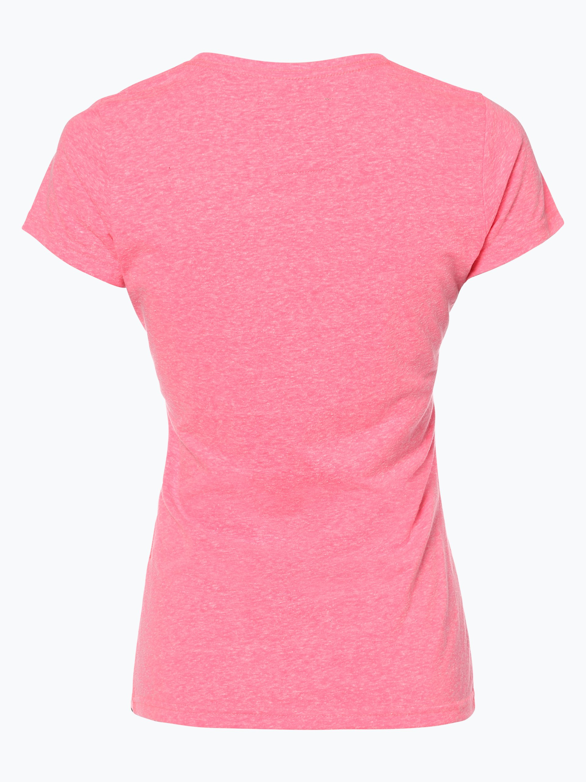 superdry damen t shirt pink uni online kaufen vangraaf com. Black Bedroom Furniture Sets. Home Design Ideas