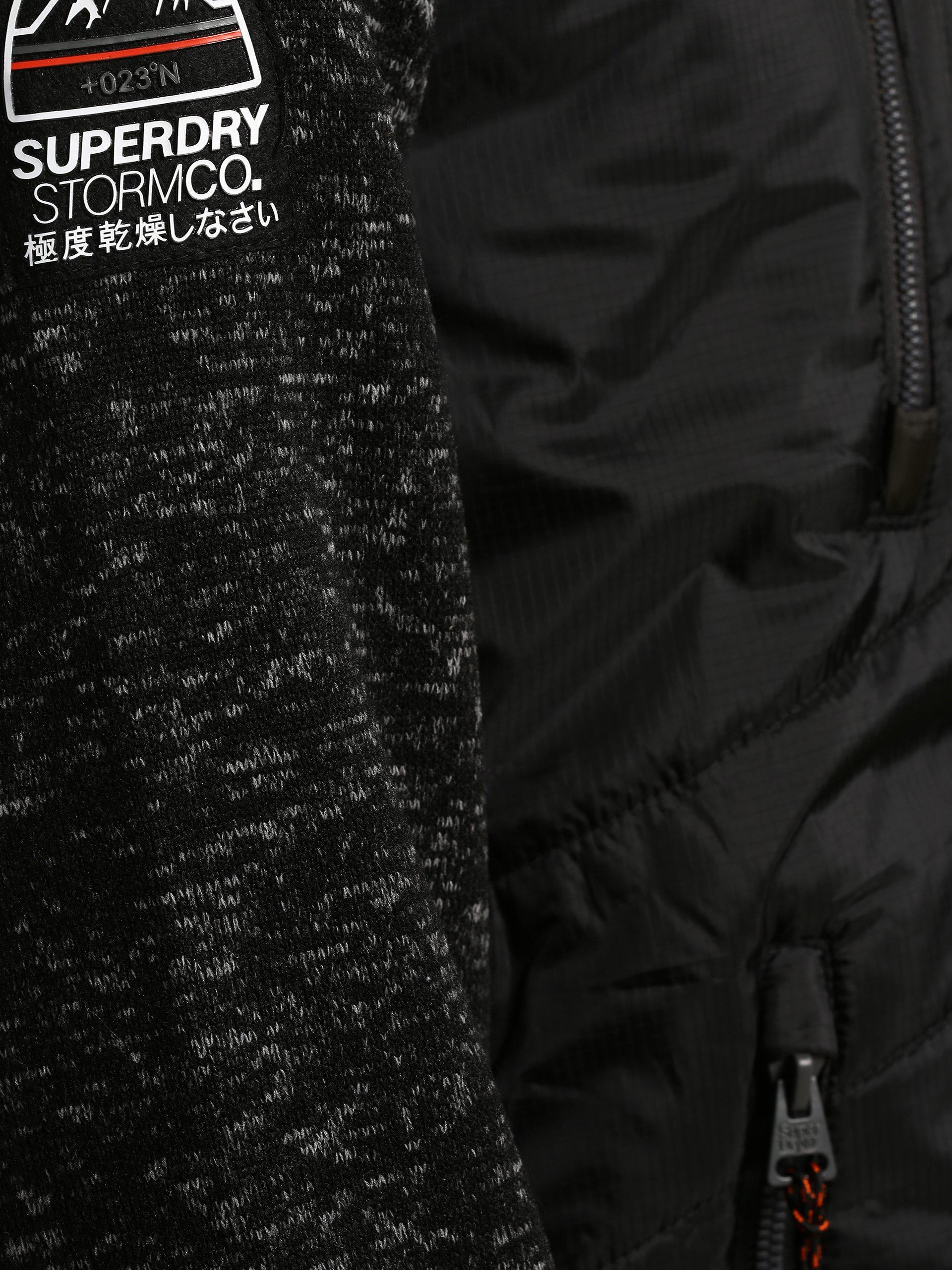 Superdry Herren Jacke - Storm Hybrid Ziphood