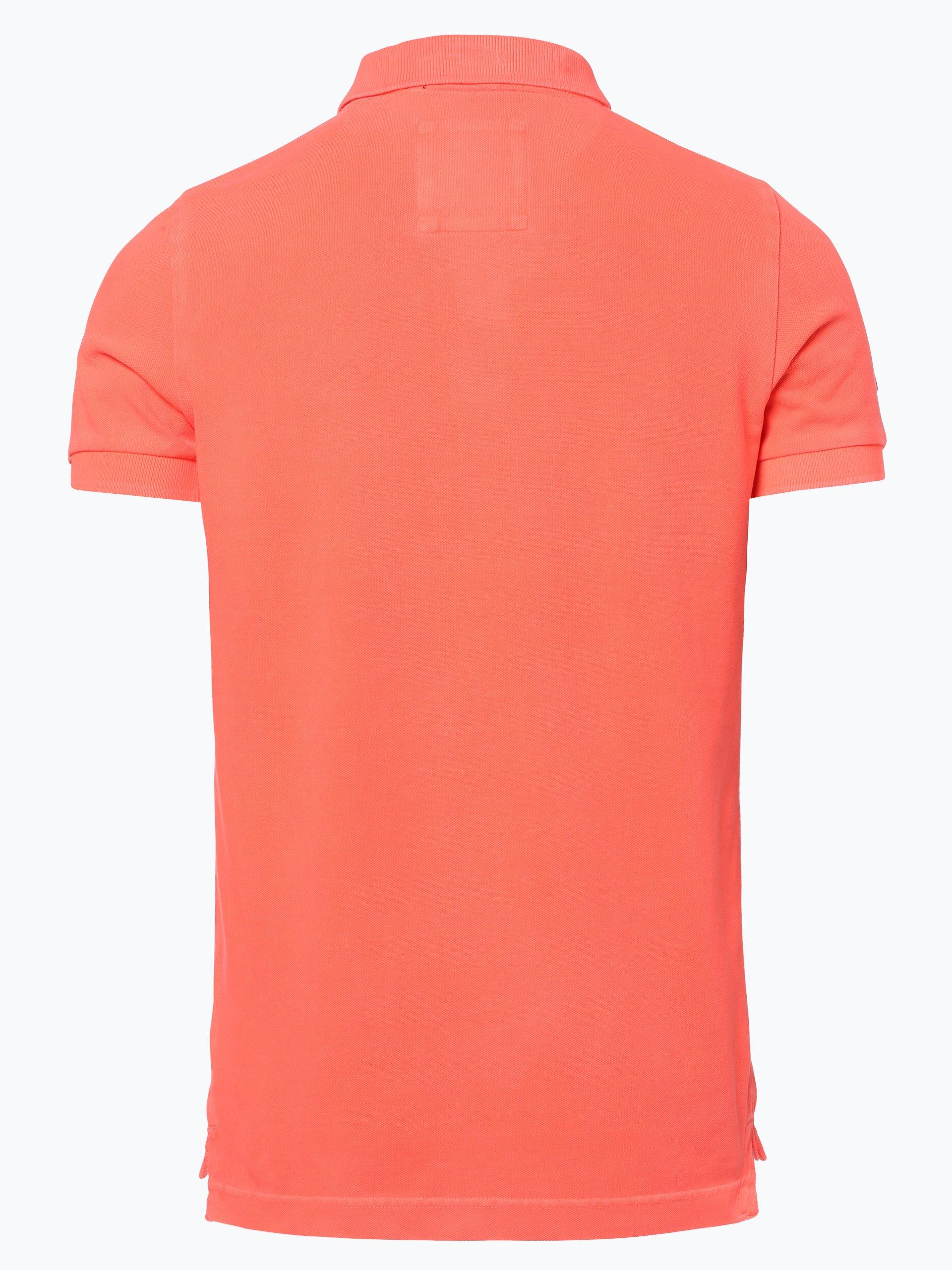 superdry herren poloshirt orange uni online kaufen peek und cloppenburg de. Black Bedroom Furniture Sets. Home Design Ideas