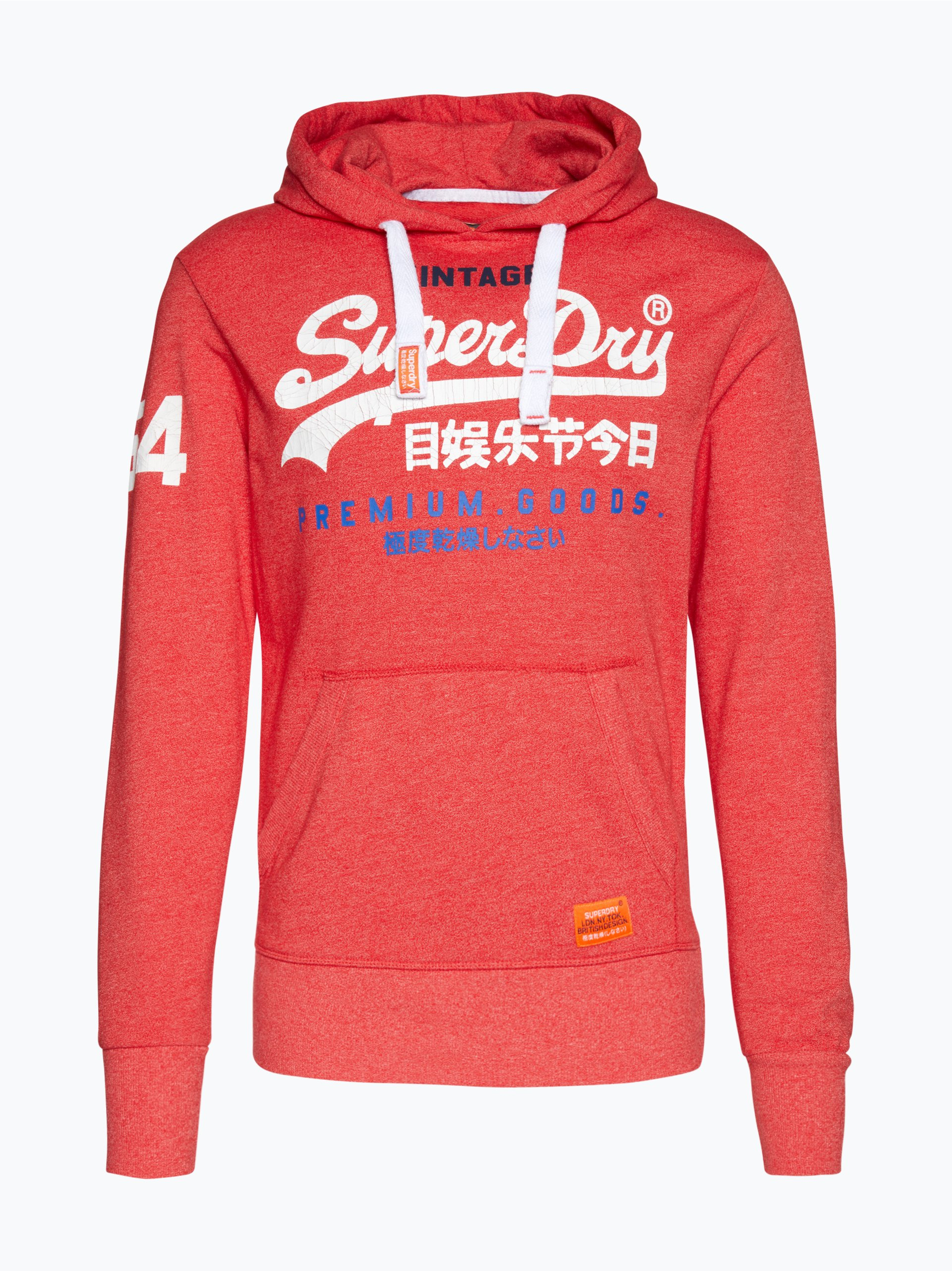 superdry herren sweatshirt rot uni online kaufen peek. Black Bedroom Furniture Sets. Home Design Ideas