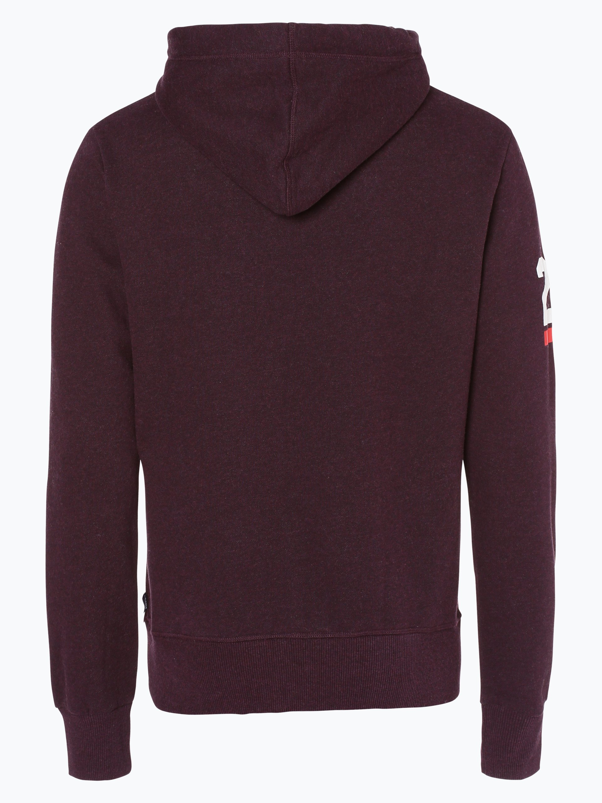 superdry herren sweatshirt aubergine gemustert online. Black Bedroom Furniture Sets. Home Design Ideas