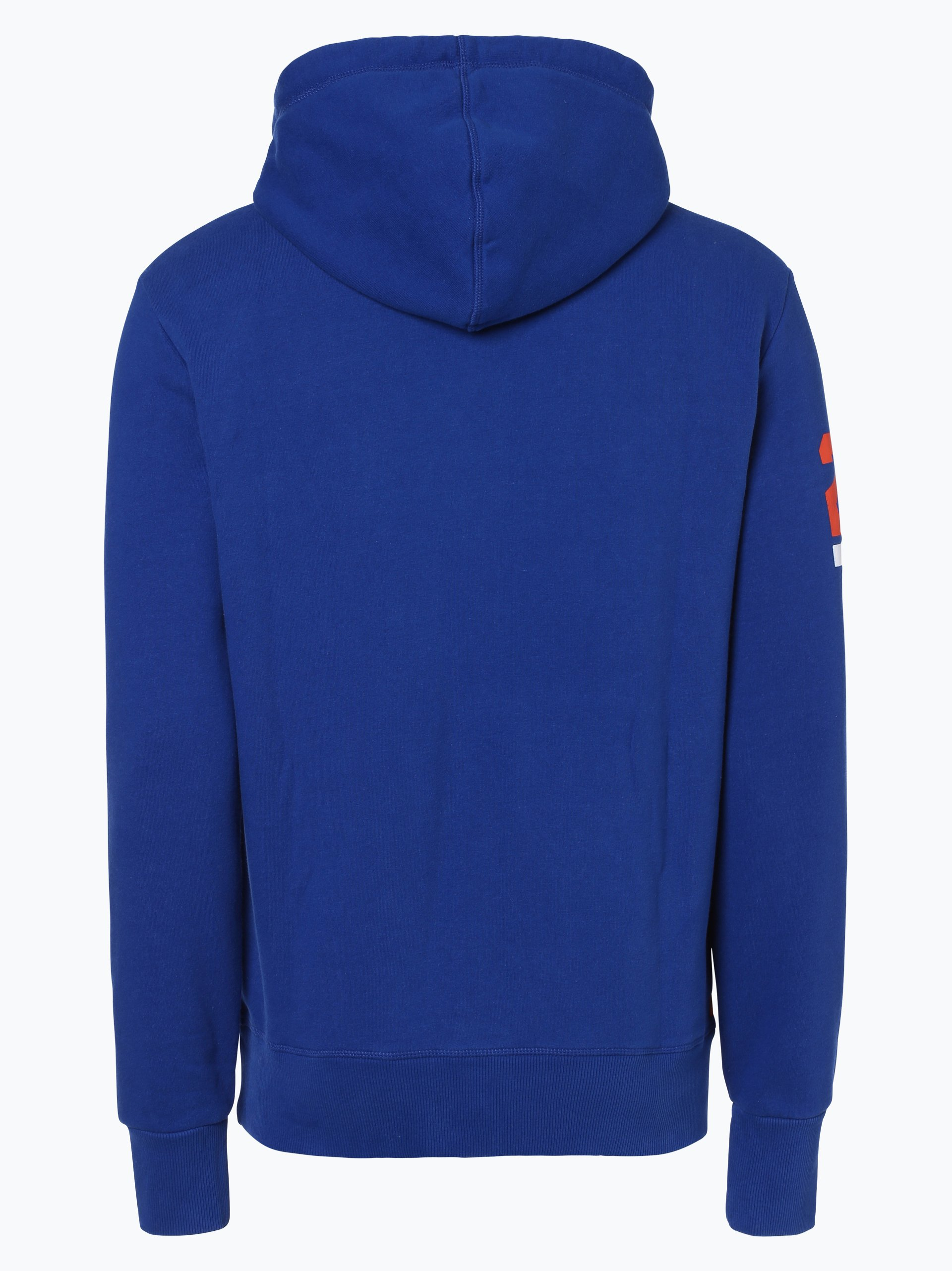 superdry herren sweatshirt royal gemustert online kaufen. Black Bedroom Furniture Sets. Home Design Ideas