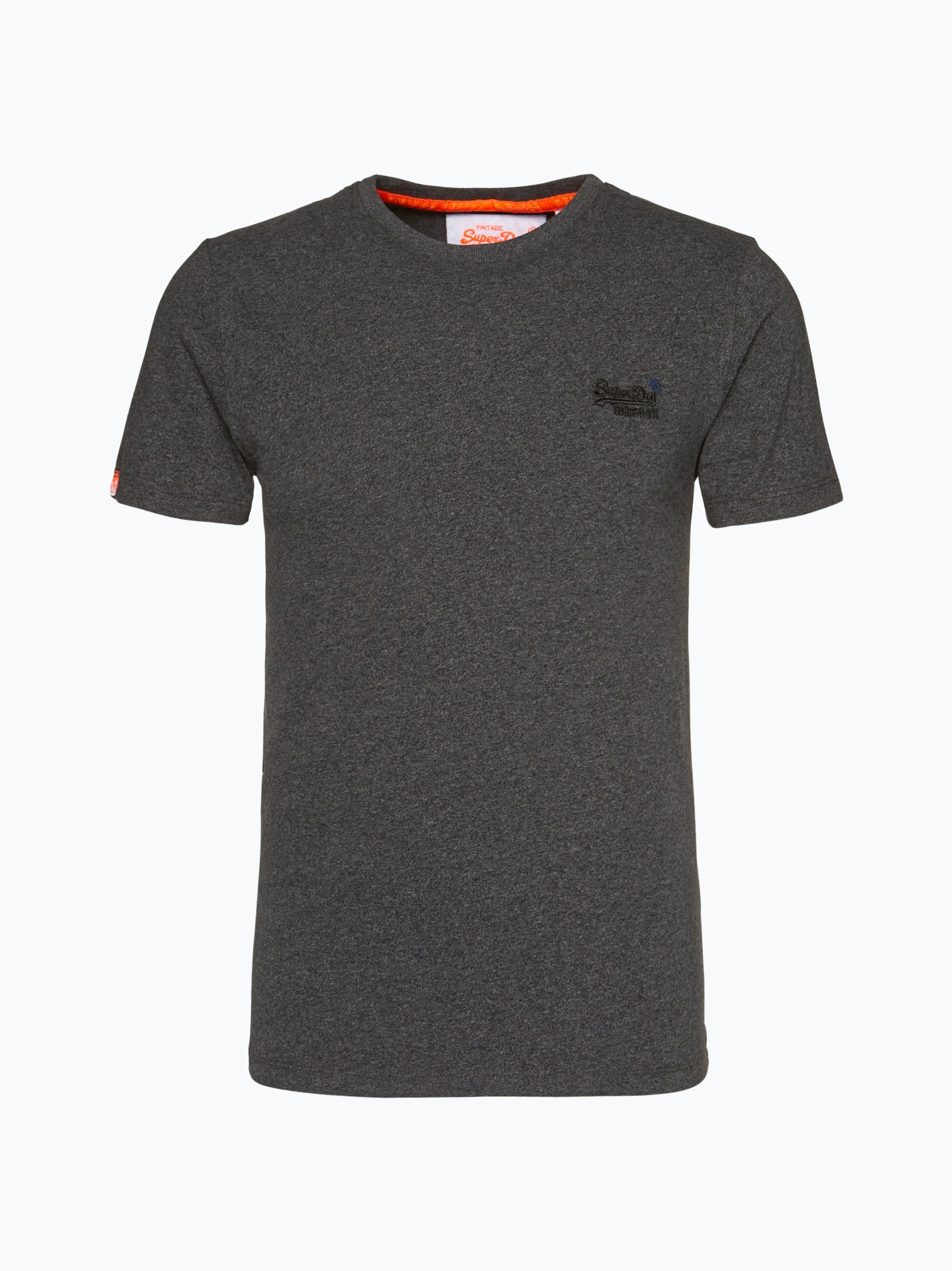 superdry herren t shirt anthrazit gemustert online kaufen. Black Bedroom Furniture Sets. Home Design Ideas