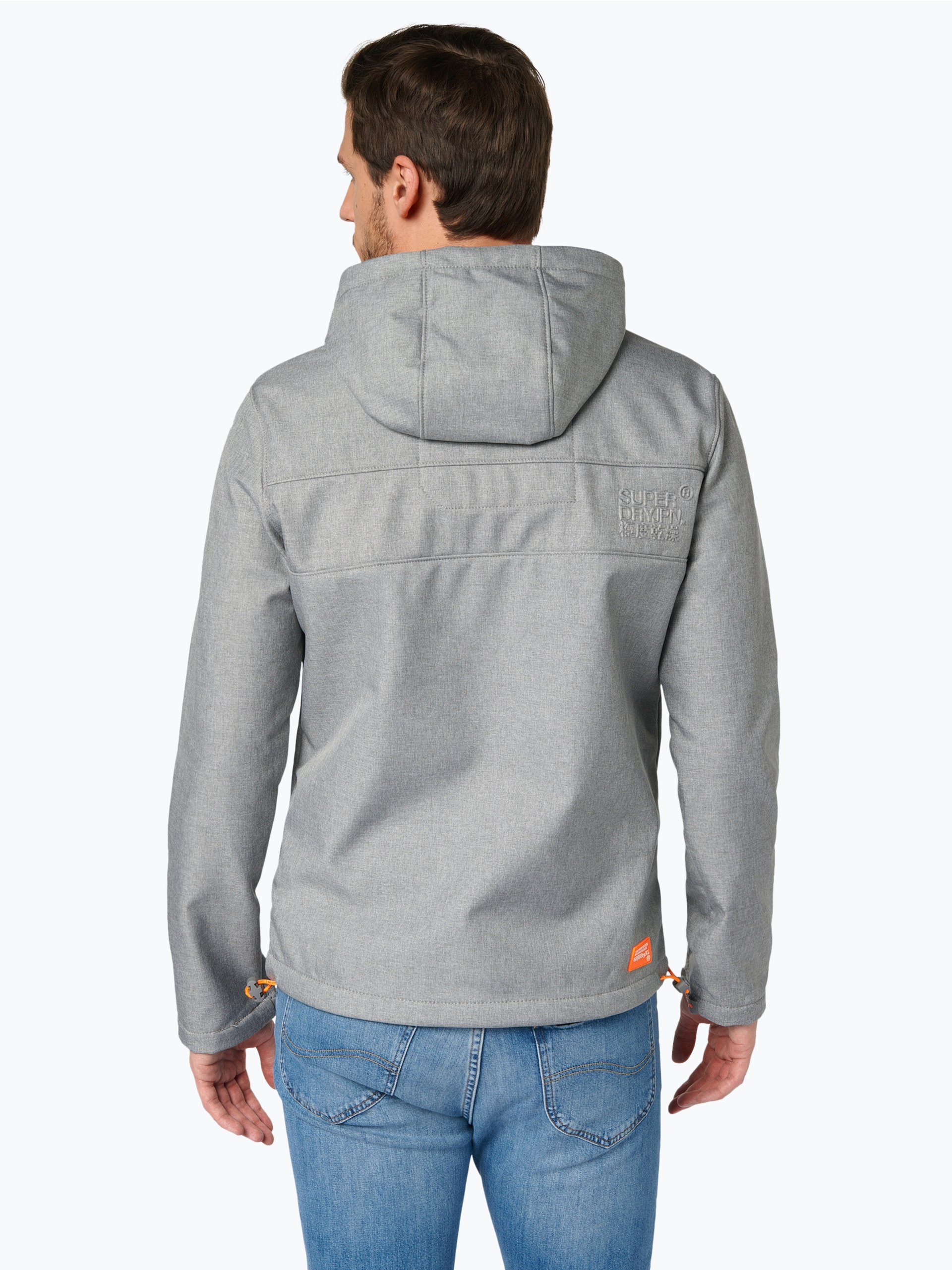 Superdry Męska kurtka softshellowa – Windtrekker