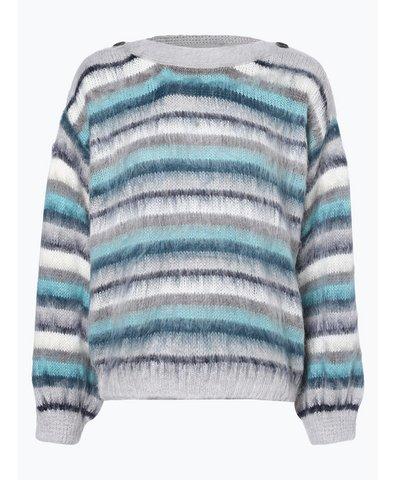 Sweter damski z dodatkiem alpaki – Dina Stripe