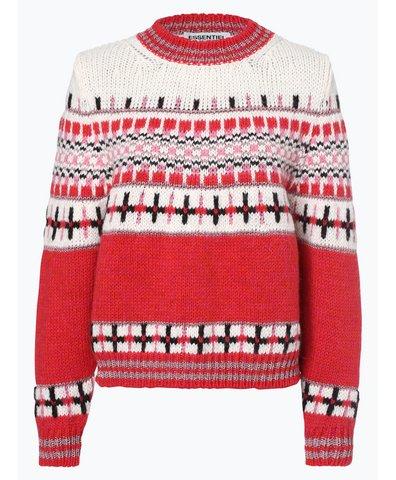 Sweter damski z dodatkiem alpaki i moheru