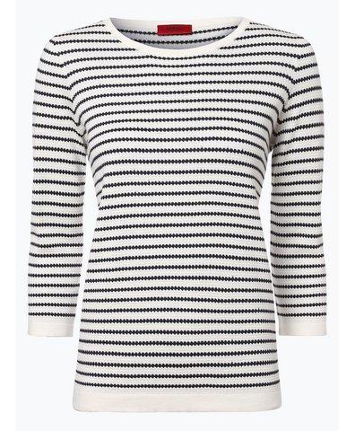 Sweter damski z dodatkiem jedwabiu – Sasiara