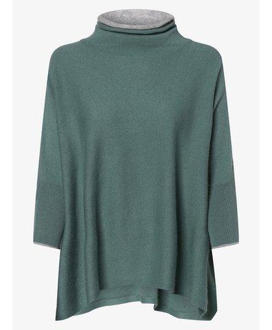 Sweter damski z dodatkiem kaszmiru – Tjelva Contrast