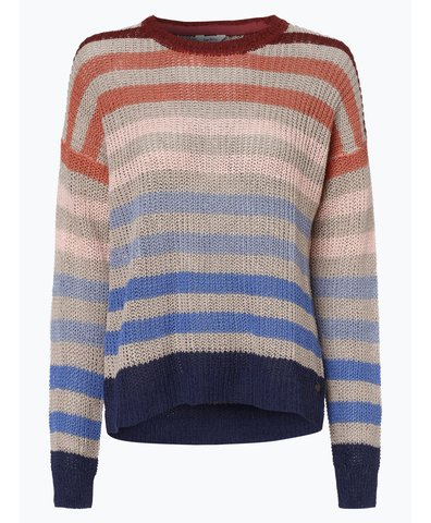 Sweter damski z dodatkiem lnu – Sue