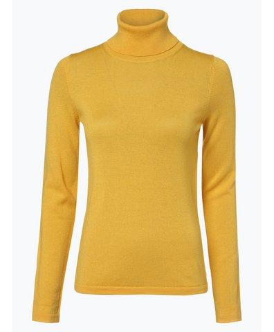 Sweter damski z domieszką wełny merino