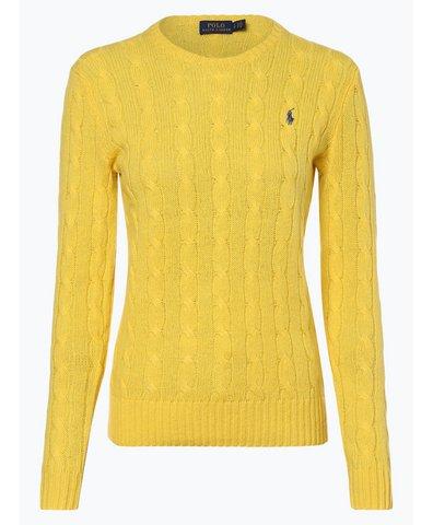 Sweter damski z mieszanki wełny merino i kaszmiru