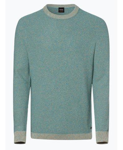Sweter męski z dodatkiem jedwabiu – Amassy