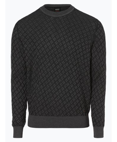 Sweter męski z dodatkiem jedwabiu – Kaban