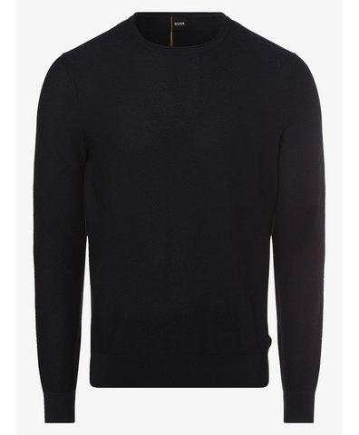 Sweter męski z dodatkiem jedwabiu – Komasro