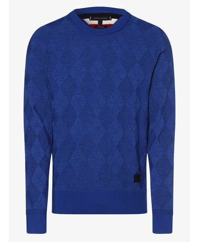 Sweter męski z dodatkiem jedwabiu