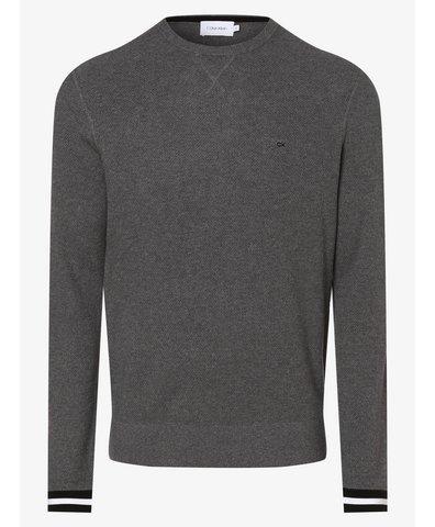 Sweter męski z dodatkiem kaszmiru