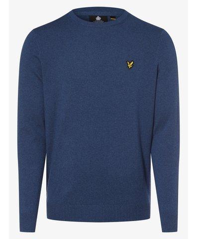 Sweter męski z dodatkiem wełny merino