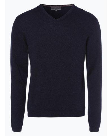 Sweter męski z kaszmiru i jedwabiu