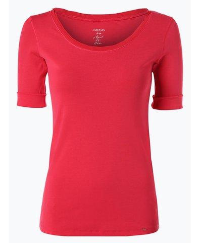 T-shirt damski z dodatkiem jedwabiu