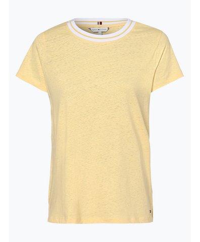 T-shirt damski z dodatkiem lnu – Ellen