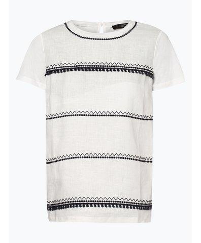 T-shirt damski z dodatkiem lnu – Tecnico