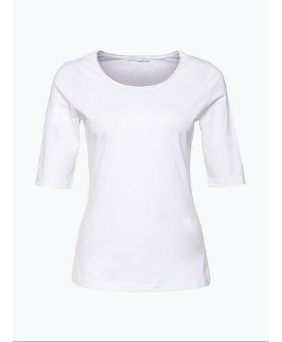 T-shirt damski z jedwabną lamówką – Emmsi