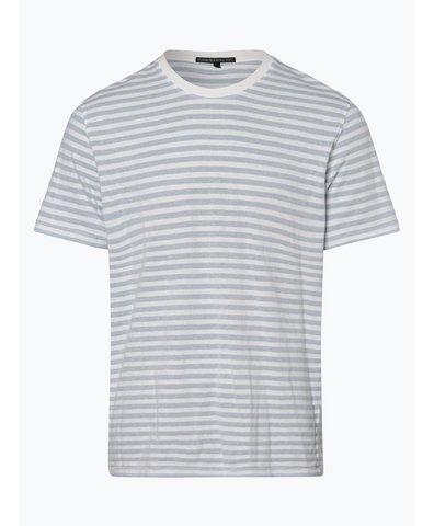 T-shirt męski z dodatkiem lnu – Samuel