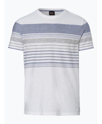 T-shirt męski z dodatkiem lnu – Tilak
