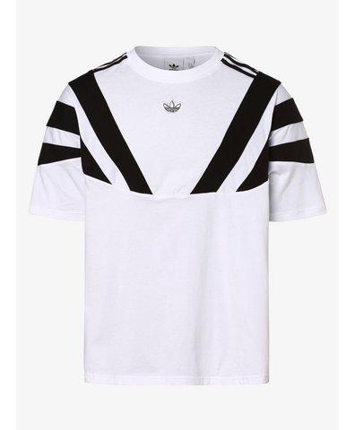 ADIDAS ORIGINALS T shirt z bawełny z naszywką z logo w