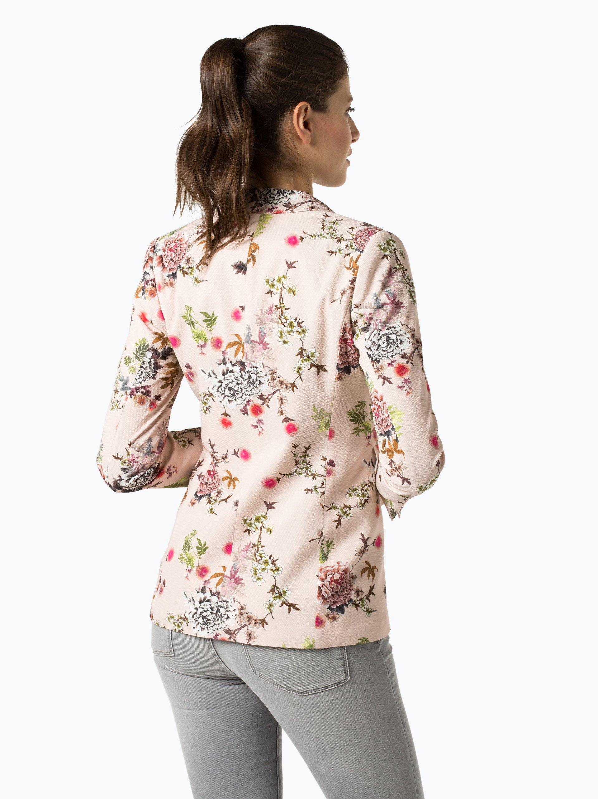 taifun damen blazer rosa altrosa gemustert online kaufen vangraaf com. Black Bedroom Furniture Sets. Home Design Ideas