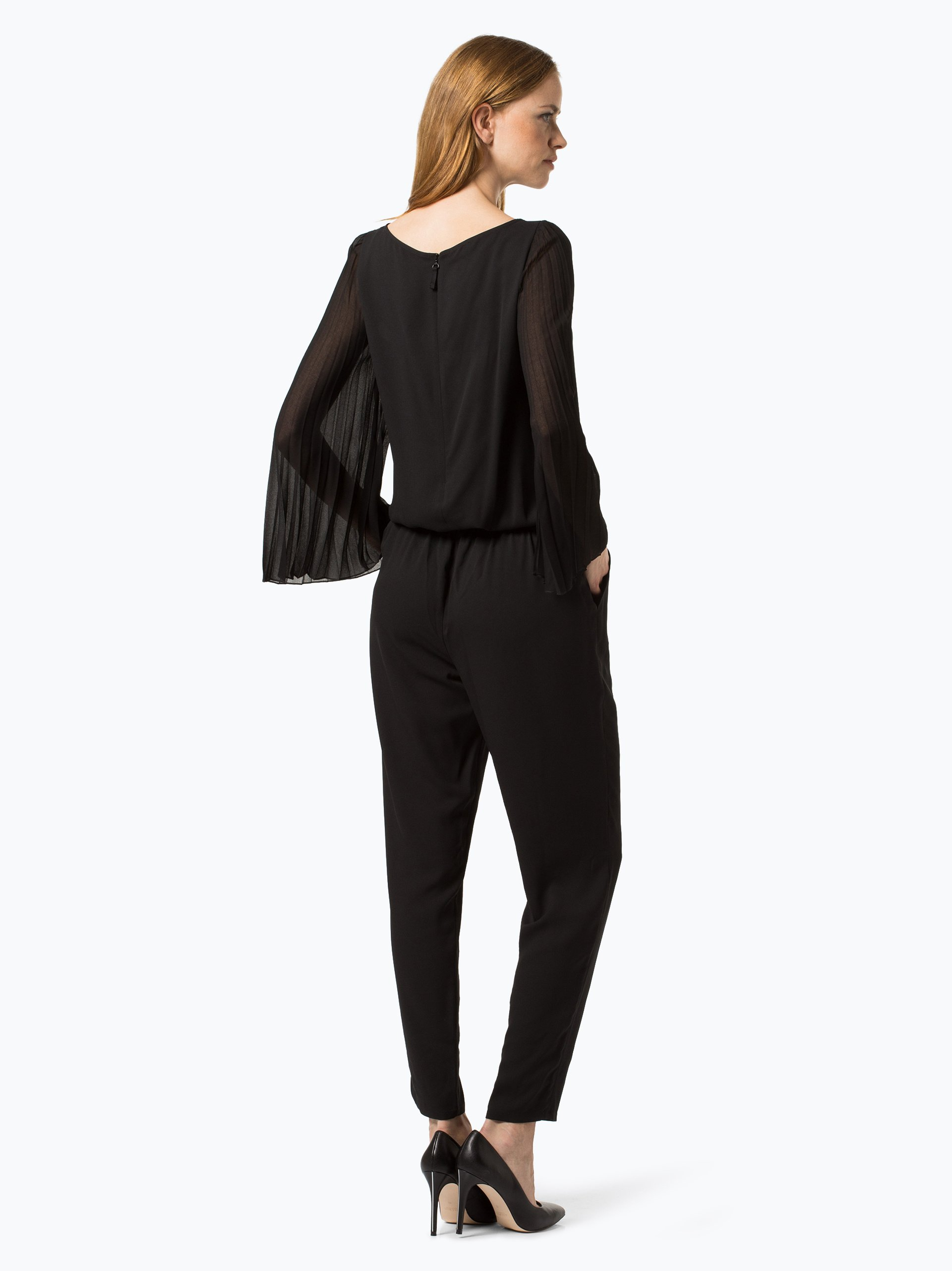 taifun damen jumpsuit schwarz uni online kaufen vangraaf com. Black Bedroom Furniture Sets. Home Design Ideas