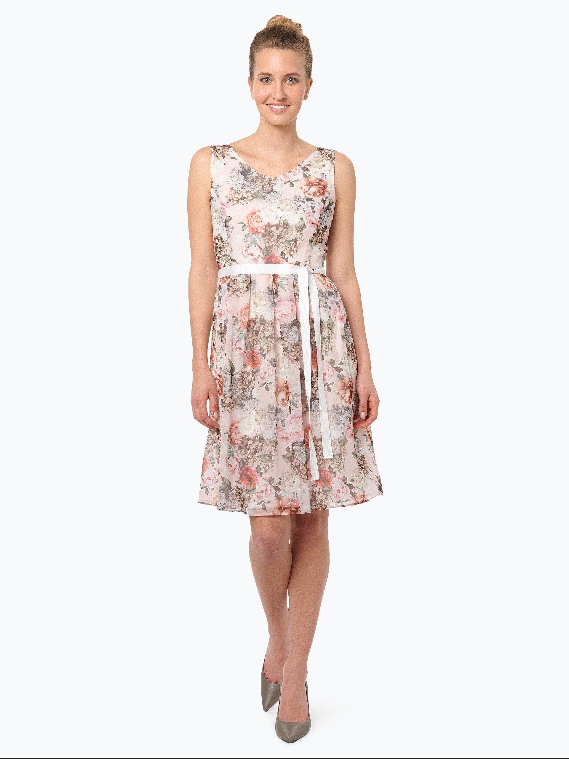 taifun damen kleid get dress beige gemustert online kaufen vangraaf com. Black Bedroom Furniture Sets. Home Design Ideas