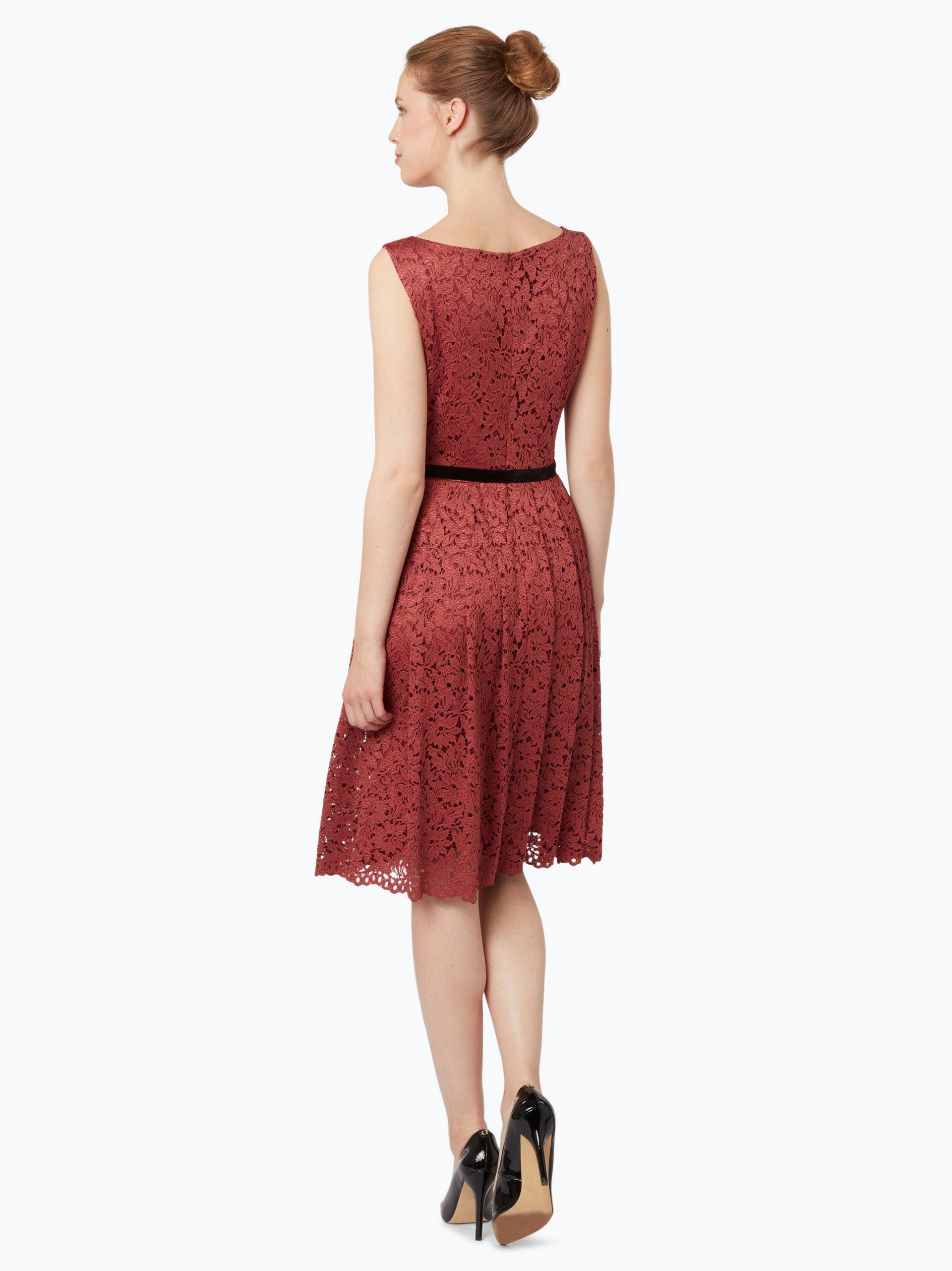 taifun damen kleid marsala bloom rot uni online kaufen peek und cloppenburg de. Black Bedroom Furniture Sets. Home Design Ideas