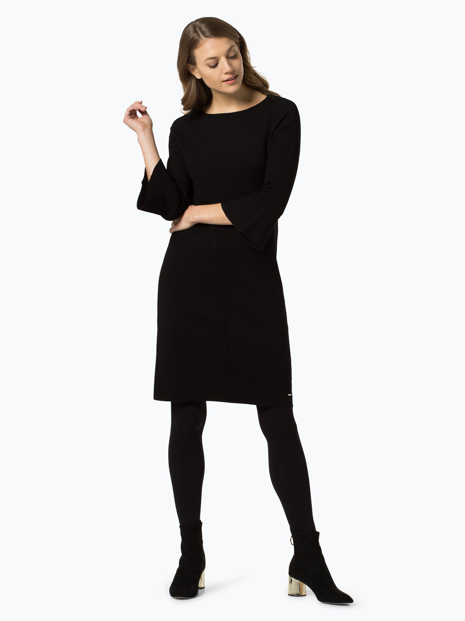 taifun damen kleid schwarz uni online kaufen vangraaf com. Black Bedroom Furniture Sets. Home Design Ideas