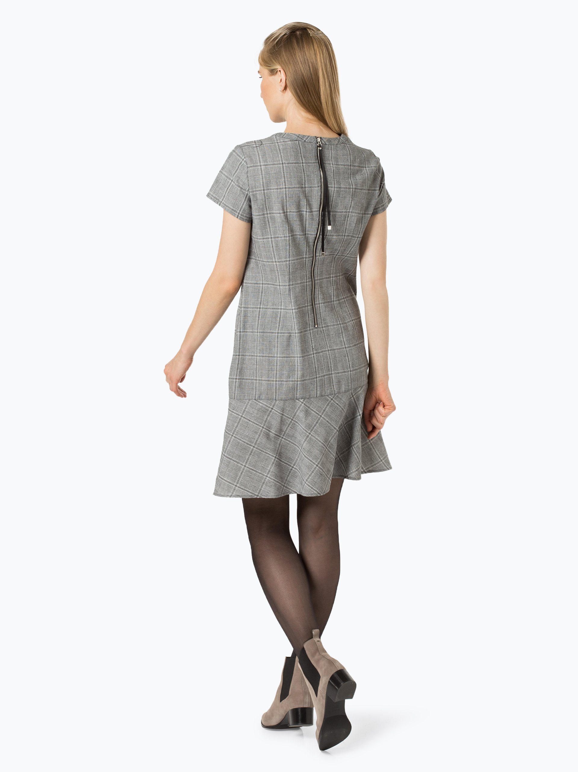 talk about Damen Kleid mit Leinen-Anteil