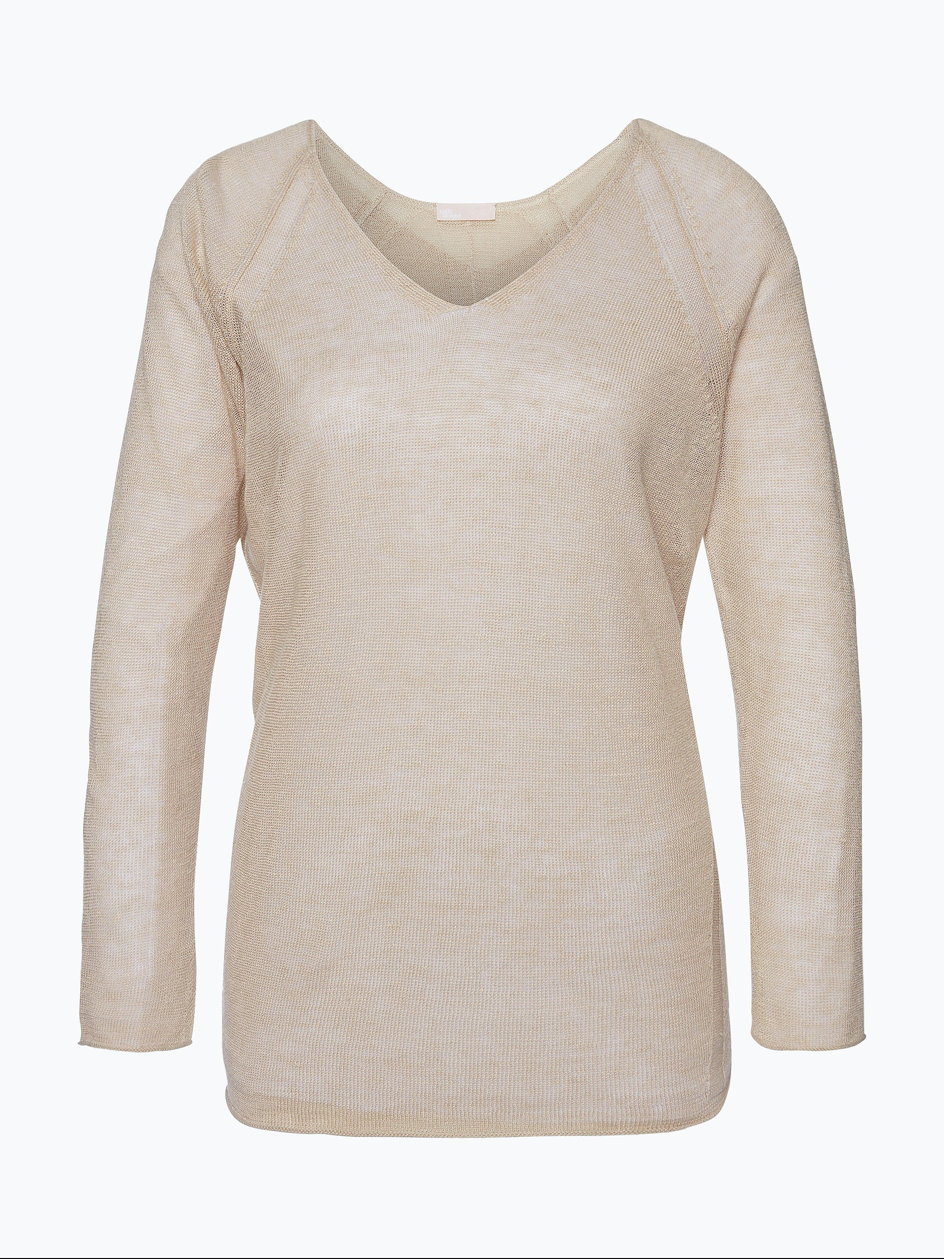 talk about Damen Pullover aus Leinen-Mix - Cuba Libre