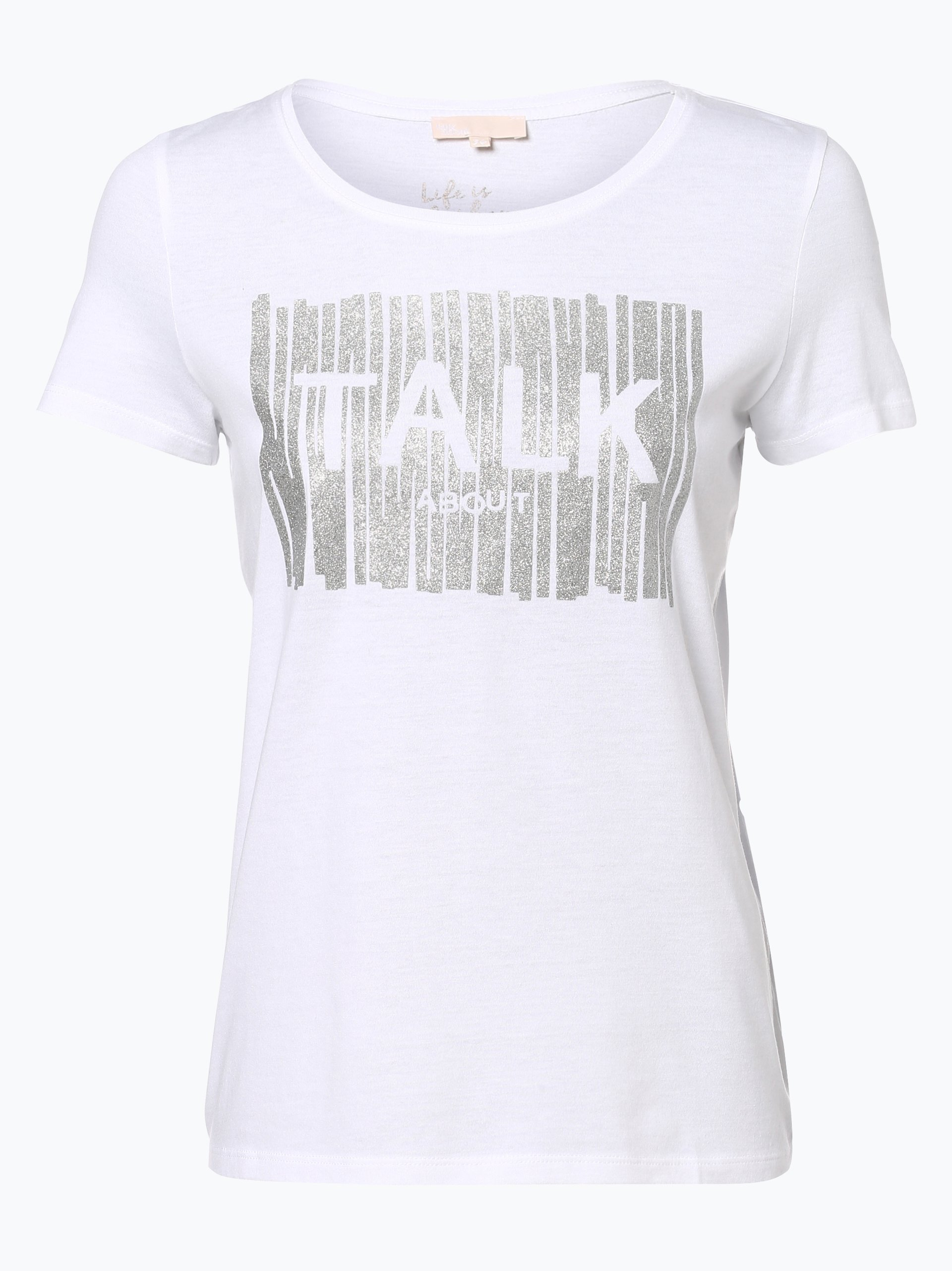 Damen T-Shirt schwarz Talk about i1eg27