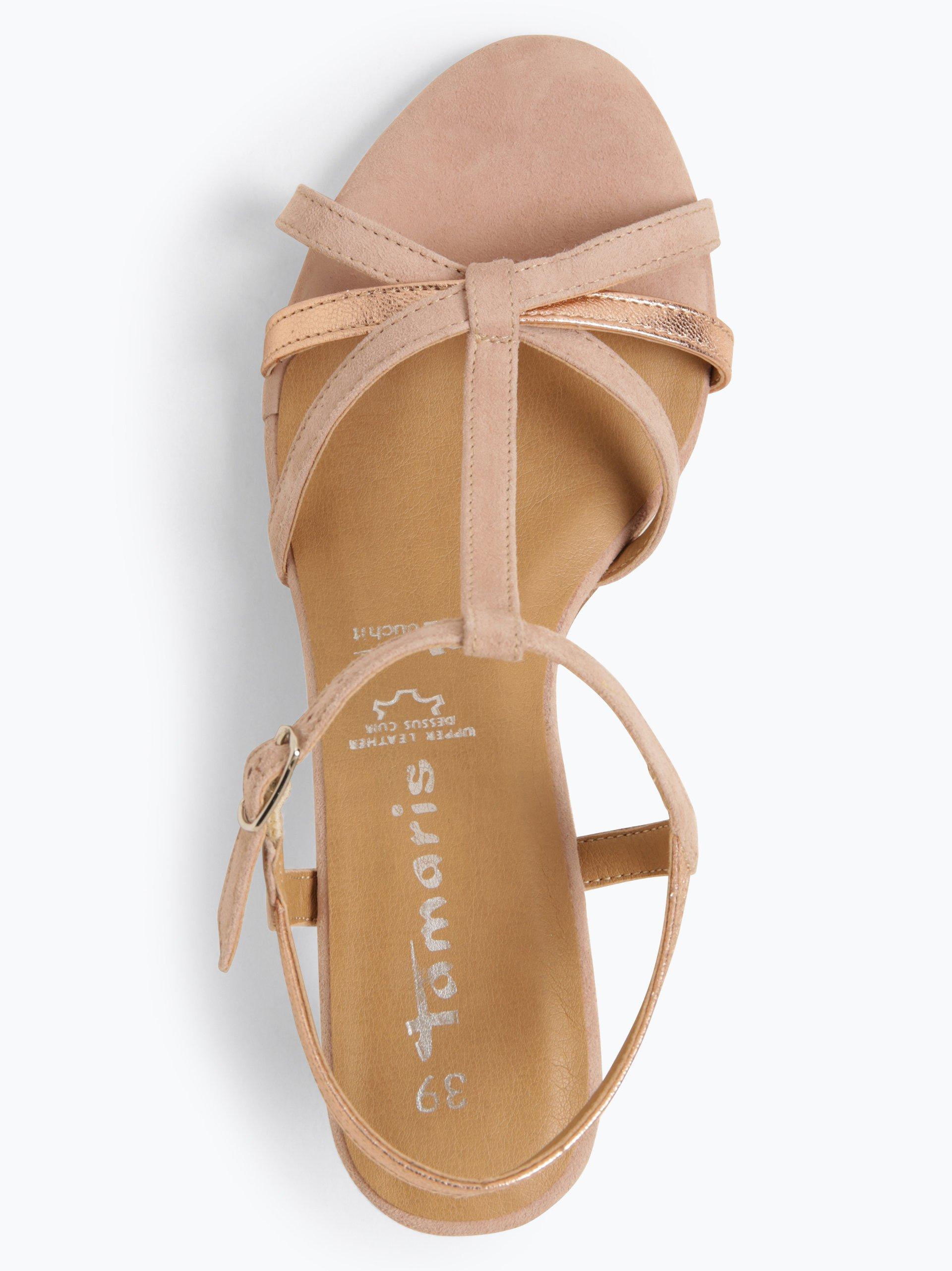 Tamaris Damen Sandaletten aus Leder
