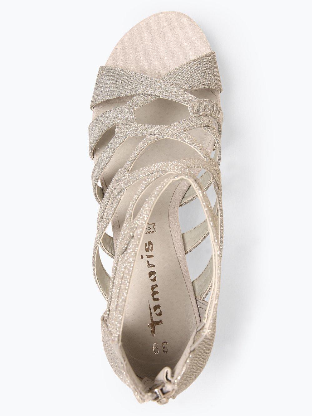 Tamaris Damen Sandaletten mit Leder Anteil online kaufen